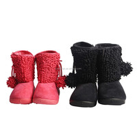 Fashion wholesales children snow boots kids push shoes and baby girls boys cashmere snow boots