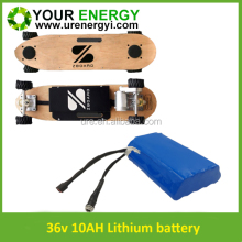 high power 36v lithium battery,ultra-long rechargeable 36v 12ah electric scooter battery