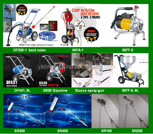 GR piston pump 390 395 airless paint sprayer factory selling
