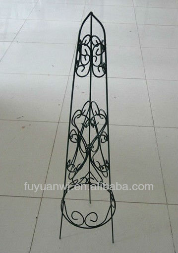 antique outdoor decorative wrought iron plant stand