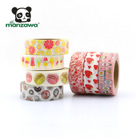 Custom pattern carton stationery washi tape roll china suppliers foil washi tape