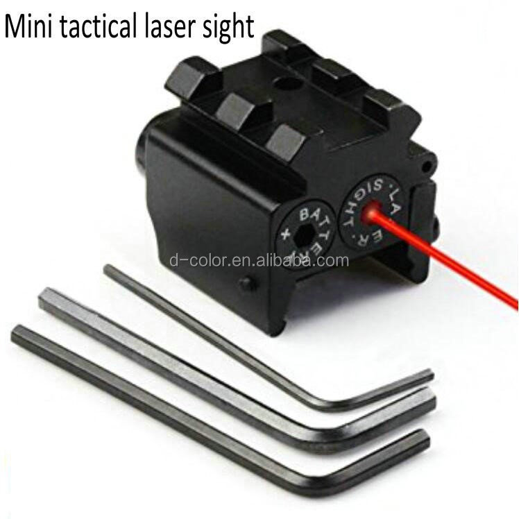 OEM Mini Laser sight tactical rifle red dot laser sight with rail mout outdoor tools