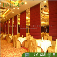 restaurant room divider banquet hall room divider wall