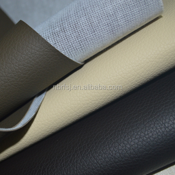 Eco friendly imitation leather fabric for sofa, bag, furniture, car seat etc