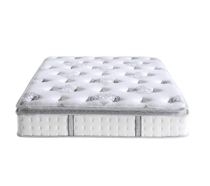 "Pillow-Top Cool Gel Memory Foam and Innerspring Hybrid 12"" Mattress, Full, White - Jozy Mattress | Jozy.net"