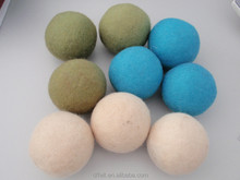 high quality laundry dryer ball made of wool
