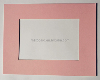 wholesale paper matboard white or customize matboard