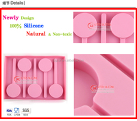 Silicone baby food freezer tray with FDA LFGB CERTIFICATER