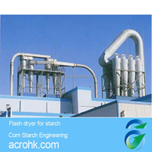 Starch, modified starch, and corn gluten drying equipment