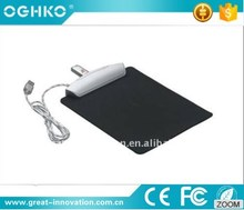 hot sell custom USB hub mouse pad with 4 port hub