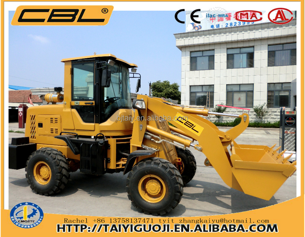 ZL-928 4x4 compact tractor with loader and backhoe