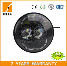 Hotest 5.75inch 48w led headlight high low projector e-mark 5 3/4 motorcycle led head lights