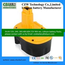 DW144NI-BB DW144NI-YB dewalt nimh battery 14.4V 2Ah~3Ah for dewalt power tools with high power