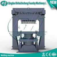 Jolt squeeze Molding Machine with Multiple Ram Shooting Head in Metal Casting Machinery