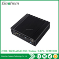 HDD+SSD Fanless design industrial computer type 2 Ethernet Mini PC