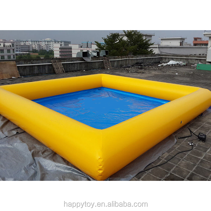 HI CE Promotional inflatable adult swimming pool,adult plastic swimming pool