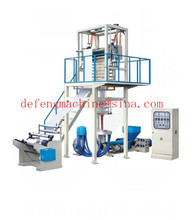 Automatic LDPE / HDPE Stretch Film Blowing Machine