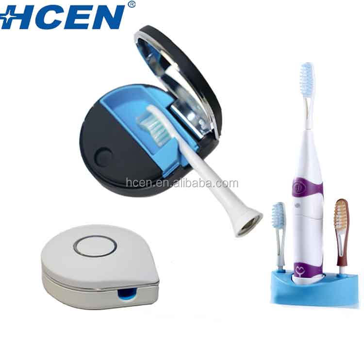 Gift products supplier germicidal uvc led travel toothbrush sanitizer