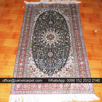 hand woven luxurious silk tribe rugs