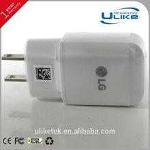 For LG EU US UK plug charger mobile phone accessory,adaptor travel converter