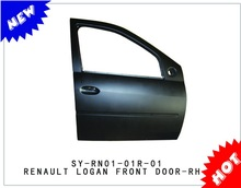 latest body parts front car door panel for Dacia Renault Logan