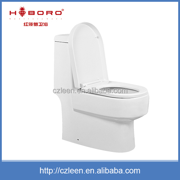 Wash down chaozhou ceramic sanitary ware one piece man toilet