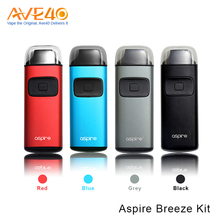 Latest Craze All In One Device E Cigarette Starter Kit Express Aspire Breeze Kit With 650mAh Rechargeable Battery
