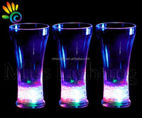 designer good quality gifts led cup led blinking cup led water lacquer glass