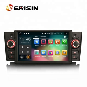 Erisin ES7823L HD 8-Core Android 8.0 8-Core Car DVD with WiFi 4G DAB+DVR USB BT SD for Fiat Punto Linea