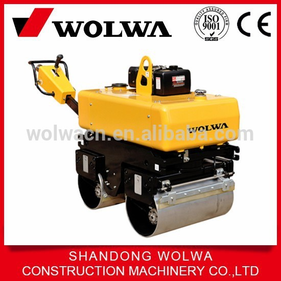 GNYL34BC walk behind double drum vibratory road roller