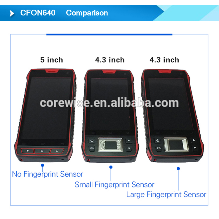 Android data collector terminal hf 13.56 handheld with rfid reader