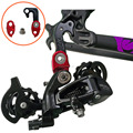 Aluminum Alloy MTB Mountain Road Bicycle Extended Rear Derailleur Hanger Bike Frame Tail Hook