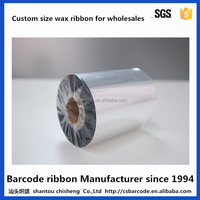 Barcode Wax thermal transfer hot coding foil ribbon for Zebra TSC printers