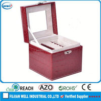 High end customized pu leather mannequin inc jewelry items display