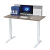 Sit stand desk computer motorized desk for smart office work & home study & home dinner