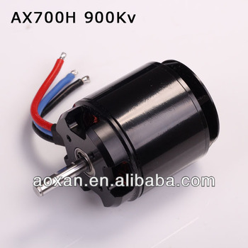 700 class rc helicopter brushless motor AX700 900Kv