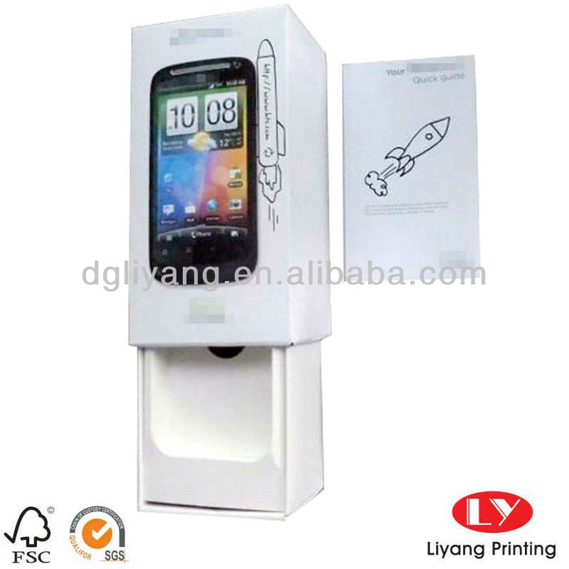 Customized mobile phone software packaging box