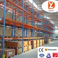 Nanjing customized Corrosion Protection Feature box beam rack storage shelf