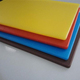 PE plastic cutting board/lap cutting boards/thick or thin round cutting board