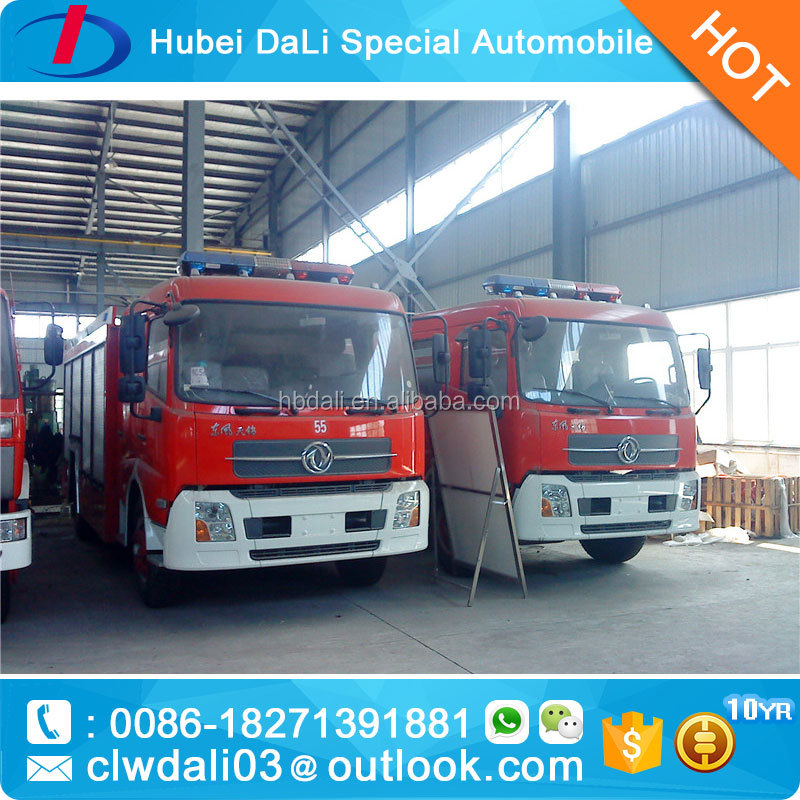 tianjin 4X2 10000KG military fire truck/off road fire truck