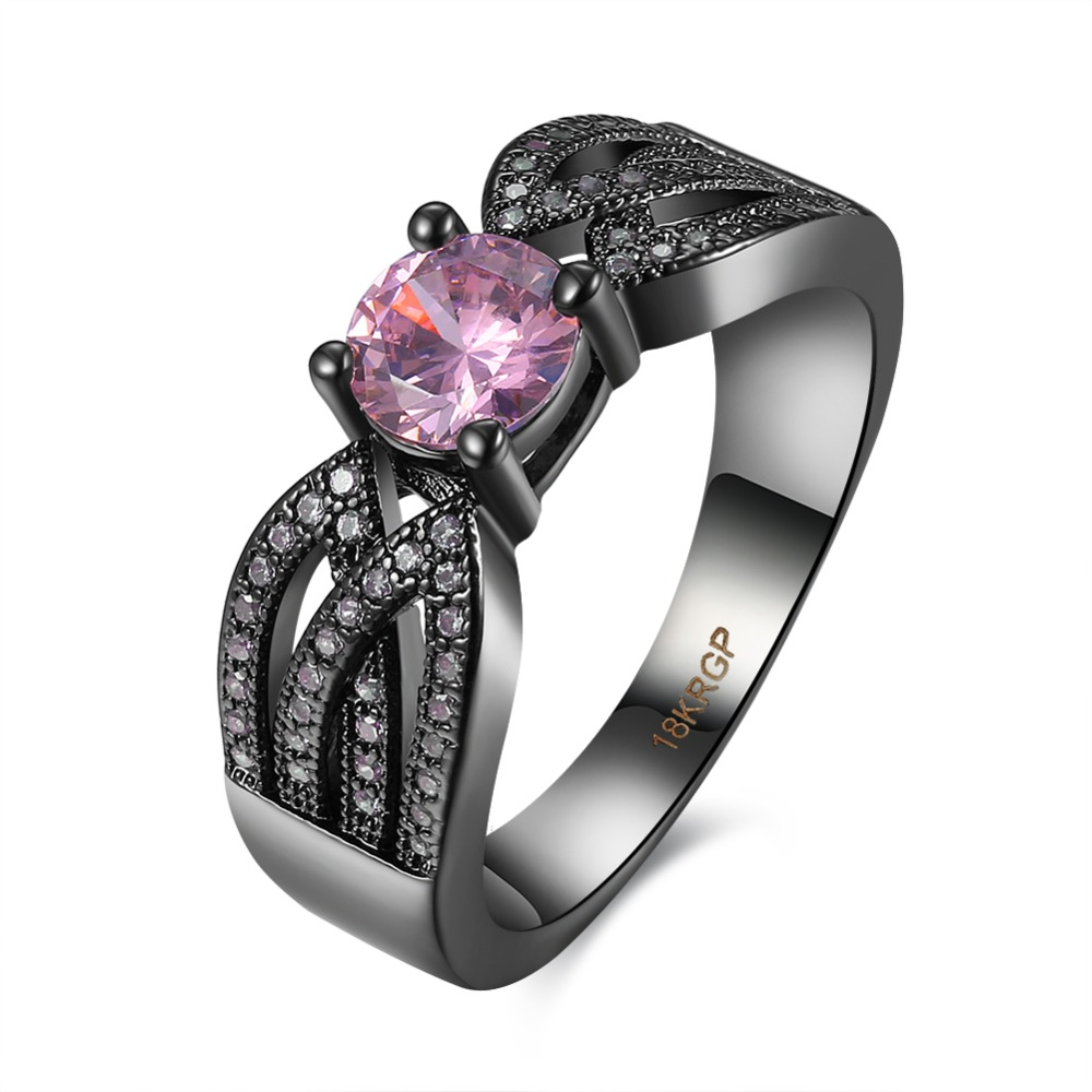 Gun color ring antique indian jewellery Gun color ring for women