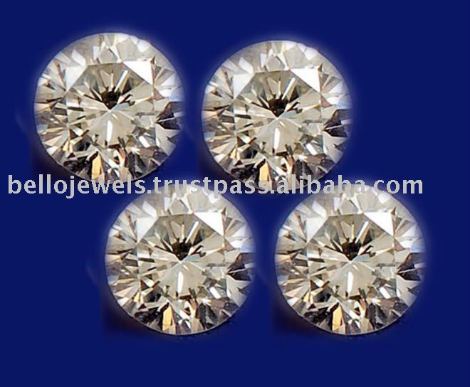 Certified 4 Natural Diamond Solitaires from South Africa by Bello Jewels Delhi/NCR