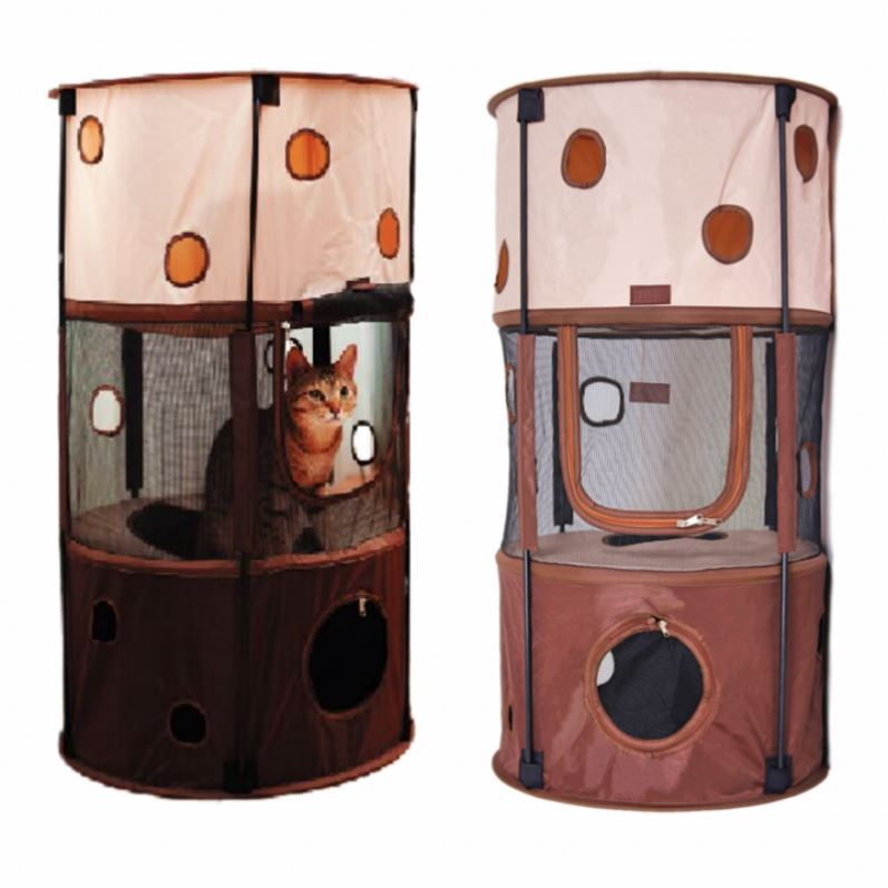 Pet Products Cat Cage Tree Furniture