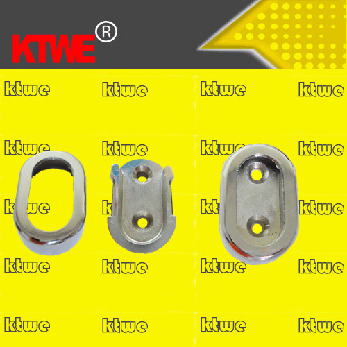 china manufacturer wardrobe oval rod support