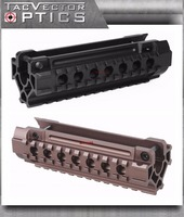 Vector Optics Heckler & Koch Tactical MP5 Tri Picatinny Rails Compact Handguard Mount Black & Brunt Bronze Color for H&K Laser