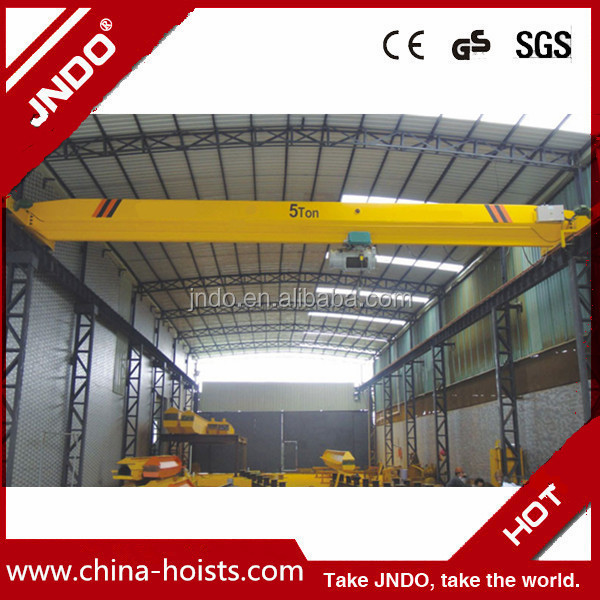 Bridge Travelling Crane With Electric Hoist For Sale