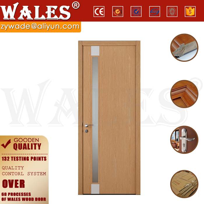 OEM single and triple modern curved wooden extend shower door