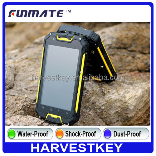 4.5 inch IP68 rugged phone snopow m8 dual card capacitive touch screen mobile phone