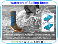 Boating Waterproof Country Boots Riding Boots Sailing Boots