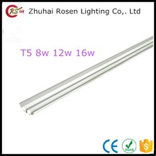 Hot sale 175-260v aluminum neutral white 475x80x40mm 875x80x40mm 1175x80x40mm T5 integration of aluminum cover led tube light